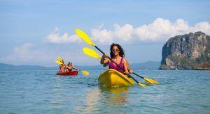 rutas en kayaks planes en sanxenxo
