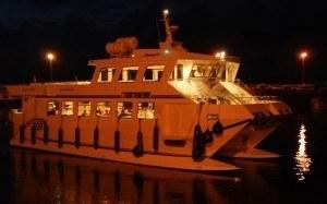 cenas con marisco en barcos