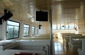 paseos en catamaran entre bateas
